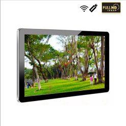 màn hình 75 inch treo tường, quảng cáo