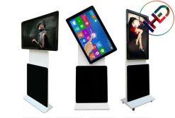 LCD xoay 360° được sử dụng nhiều tại các TTTM, nhà ga sân bay, nhà hàng...