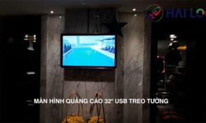 màn hình quảng cáo treo tường 32 inch Hotel lighnt