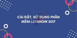 ảnh đại diện cài đặt ledshow 2017